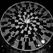 The Wheel That Ferris Built Art Print