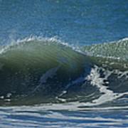 The Windblown Wave Art Print