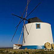 The Windmill Art Print by Heiko Koehrer-Wagner