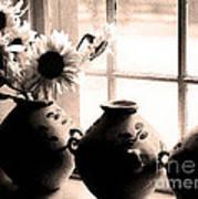 The Window Vases Art Print