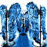 The Wings Of Fallen Angels Art Print