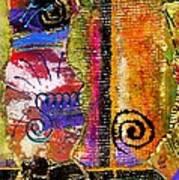 The Woven Stitch Cross Dance Art Print