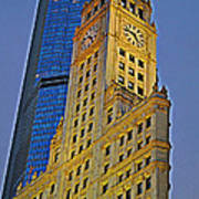 The Wrigley Building Art Print