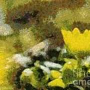 The Yellow Flower Art Print