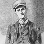 The Young James Joyce Art Print