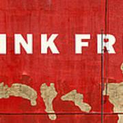 Think Free Art Print