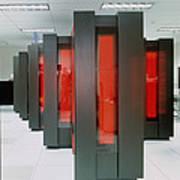 Thinking Machine Cm-5 Massively Parallel Computer Art Print