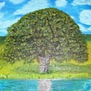 Thinking Tree Art Print