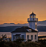 This Is Washington State No. 11 - Port Townsend Light House Art Print