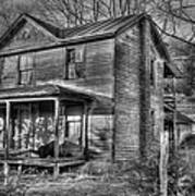 This Old House Art Print by Todd Hostetter