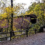 Thomas Mill Covered Bridge Over The Wissahickon Art Print