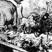 Thomas Nast Political Cartoon That Art Print