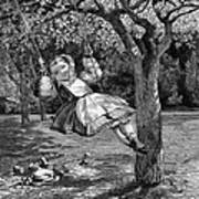 Thomas: The Swing, 1864 Art Print
