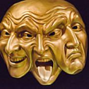Three Faces Art Print