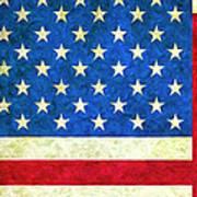 Three Flags Art Print