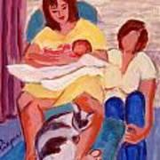 Three Generations Art Print