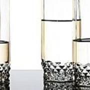 Three Luxury Glasses Art Print