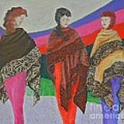 Three Women Art Print