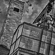 Through The Mill Bw Art Print by Ken Williams
