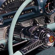 Thunderbird Steering Wheel Art Print