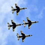 Thunderbirds In Flight Art Print