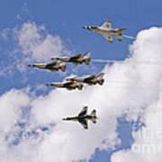 Thunderbirds Solos Break Art Print