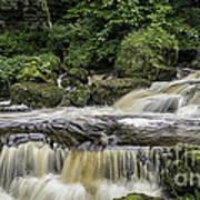 Thwaite Waterfall Yorkshire Dales Uk Art Print