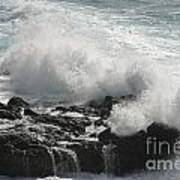 Tidal Spray Art Print