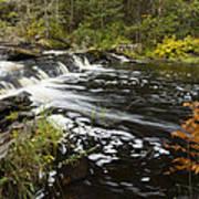 Tidga Creek Falls 1 Art Print