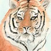Tiger 1 Art Print by Delores Swanson