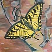 Tiger Swallowtail Art Print by Amy Reisland-Speer