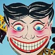 Tillie The Clown Of Coney Island Art Print