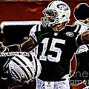 Tim Tebow  -  Ny Jets Quarterback Art Print