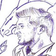 Tim Tebow  Art Print by HPrince De Artist