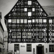 Timber-frame House Weimar Art Print by Christine Till