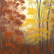 Timber Road Print by Garry McMichael
