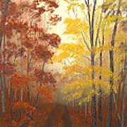 Timber Road Art Print
