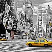 Times Square - New York Art Print