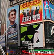 Times Square 7 Art Print
