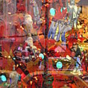 Times Square Reflections Art Print