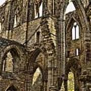Tintern Abbey 10 Art Print
