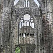 Tintern Abbey-wales Art Print