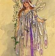Titania Queen Of The Fairies A Midsummer Night's Dream Art Print