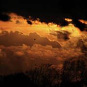 Tn Sunset Nov-11 Art Print