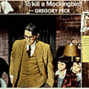 To Kill A Mockingbird, Gregory Peck Art Print