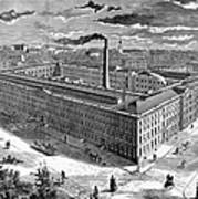 Tobacco Factory, 1876 Art Print by Granger