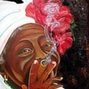 Tobacco Lady Art Print