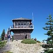 Tolmie Peak Lookout Art Print