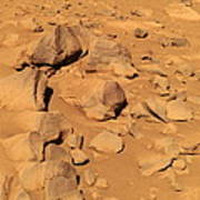 Toltecs, Volcanic Rocks, Mars Art Print