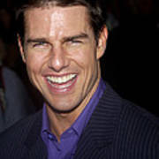 Tom Cruise At The Premiere Art Print